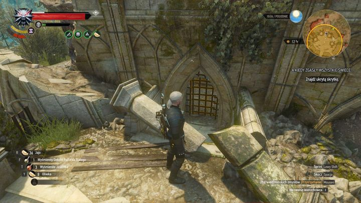 The spot where you find the locker. - Locations and descriptions of all treasure hunts - Witcher contracts and Treasure hunts quests - The Witcher 3: Blood and Wine Game Guide