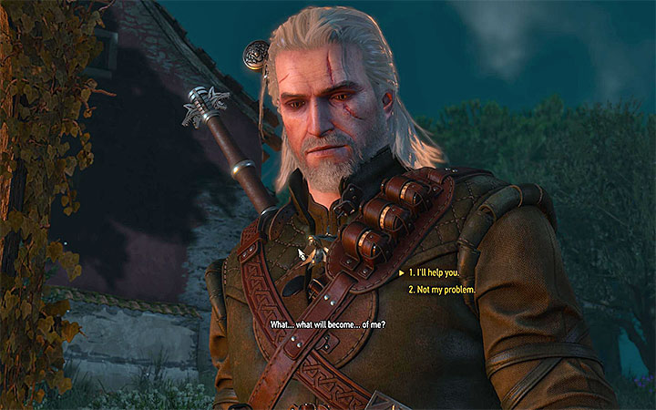 After the battle you can help Roderick or leave him to his fate - Capture the Castle - Main quests - The Witcher 3: Blood and Wine Game Guide