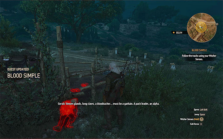 Explore the orphanage area until Geralt determines what he is facing - Blood Simple - quest about helping Orianna - Main quests - The Witcher 3: Blood and Wine Game Guide