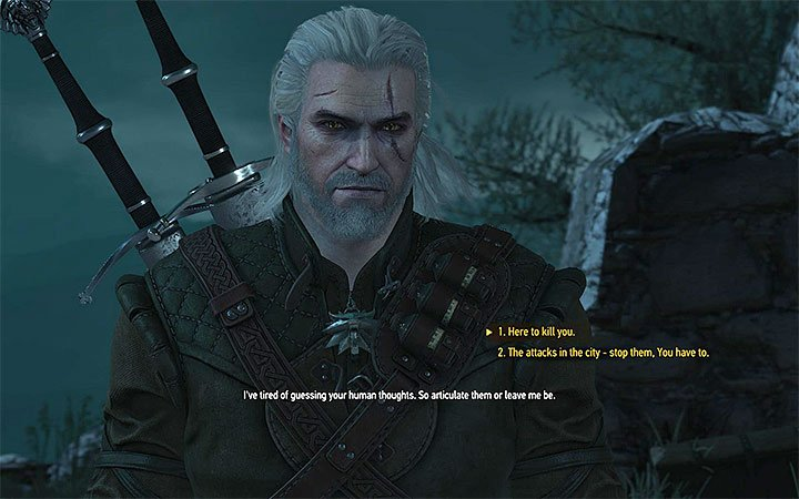 Both dialogue options lead to the encounter with Dettlaff - Tesham Mutna - the final confrontation with Dettlaff - Main quests - The Witcher 3: Blood and Wine Game Guide