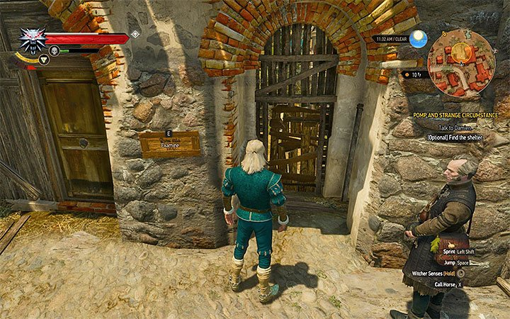 Entrance to the refuge for homeless - Pomp and Strange Circumstance - Main quests - The Witcher 3: Blood and Wine Game Guide