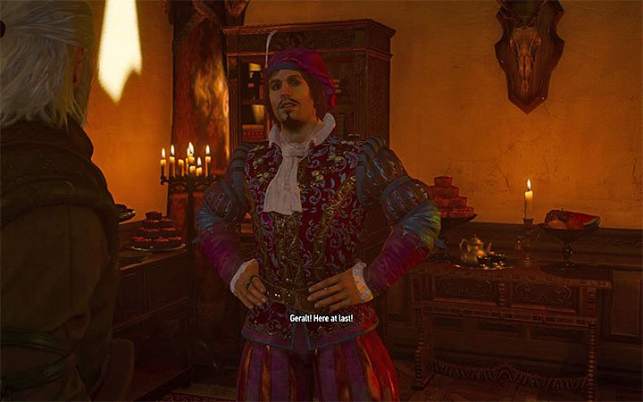 A guest will be waiting for Geralt in the vineyard - Be It Ever So Humble... - Main quests - The Witcher 3: Blood and Wine Game Guide
