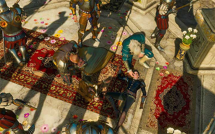 One wrong decision and both sisters die. - List of all available endings in The Witcher 3: Blood and Wine - Game endings - The Witcher 3: Blood and Wine Game Guide