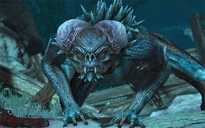 Garkain is a vampire creature - Main quests bosses in The Witcher 3: Blood and Wine - All Boss Fights - The Witcher 3: Blood and Wine Game Guide