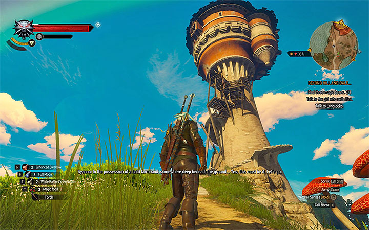 The Tower where you will find Longlocks - Main quests bosses in The Witcher 3: Blood and Wine - All Boss Fights - The Witcher 3: Blood and Wine Game Guide