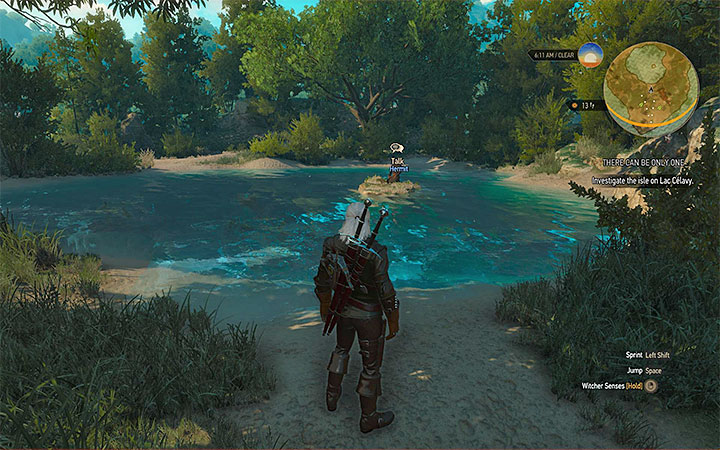 This is where you find the hermit - There Can Be Only One - Five Trials of Virtue - Side quests - The Witcher 3: Blood and Wine Game Guide