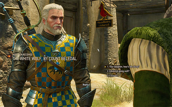 The two key moments are freeing the panthers and mentioning Beledals daughter, while talking to the count - There Can Be Only One - Five Trials of Virtue - Side quests - The Witcher 3: Blood and Wine Game Guide