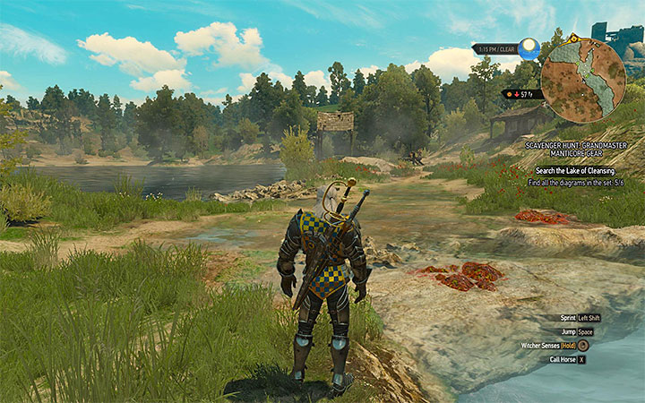 Lake of Cleansing - Scavenger Hunt: Grandmaster Manticore Gear - diagrams and item statistics - Grandmaster Witcher Gear - quests, diagrams and item statistics - The Witcher 3: Blood and Wine Game Guide