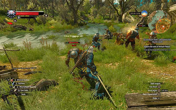 Try to stop the opponents from calling reinforcements - Scavenger Hunt: Grandmaster Feline Gear - diagrams and item statistics - Grandmaster Witcher Gear - quests, diagrams and item statistics - The Witcher 3: Blood and Wine Game Guide