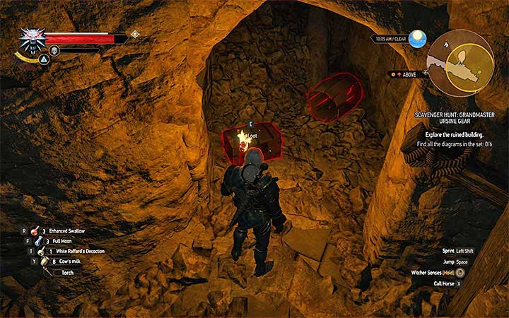 Chest with diagrams - Scavenger Hunt: Grandmaster Ursine Gear - diagrams and item statistics - Grandmaster Witcher Gear - quests, diagrams and item statistics - The Witcher 3: Blood and Wine Game Guide