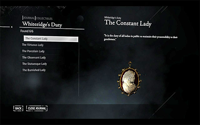 You can view the collectibles that you obtained, in the pause menu or in the city, in the clock tower - Introduction - Collectibles - Thief - Game Guide and Walkthrough