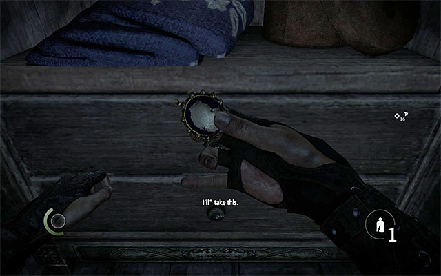 The collectible is inside one of the drawers - Whiteridges Duty - Collectibles - Thief - Game Guide and Walkthrough