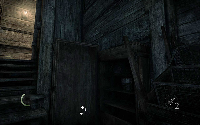 Return now to the cellar's first room and start climbing in the spot shown in the above screenshot - A Ladys Bequest - Jobs - Basso - Thief - Game Guide and Walkthrough
