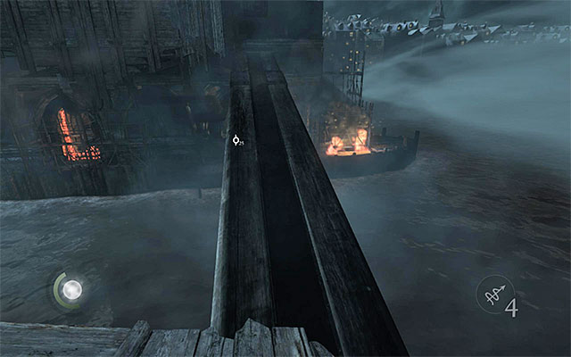 You need to run over the drawbridge before it collapses - Get to the other side of the jetty - Chapter 6: A Man Apart - Thief - Game Guide and Walkthrough