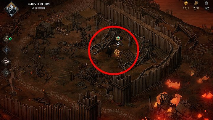To open the fourth chest you will need a special key - Hidden treasures chests in Aedirn | Thronebreaker The Witcher Tales - Maps of hidden treasures - Thronebreaker The Witcher Tales Guide