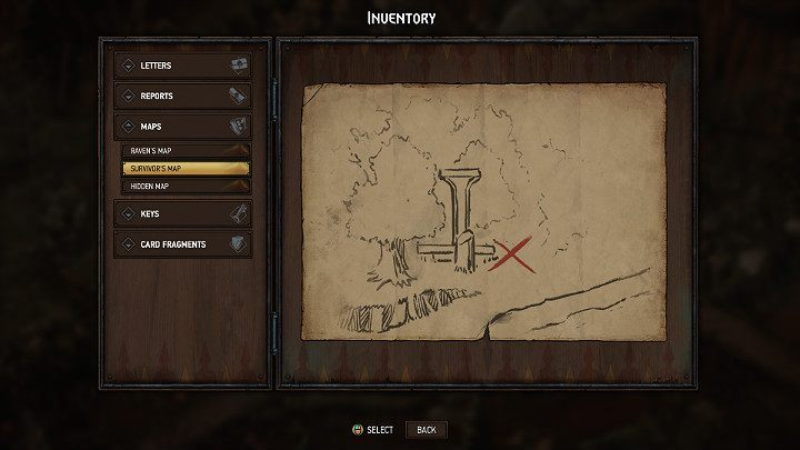 The map to the seventh treasure in Aedirn can be recovered from a surviving villager, with whom youll have to talk three times - Hidden treasures chests in Aedirn | Thronebreaker The Witcher Tales - Maps of hidden treasures - Thronebreaker The Witcher Tales Guide