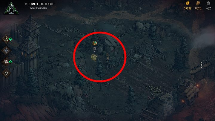 Having reached the location, excavate the chest and get the loot - Hidden treasures chests in Rivia | Thronebreaker The Witcher Tales - Maps of hidden treasures - Thronebreaker The Witcher Tales Guide