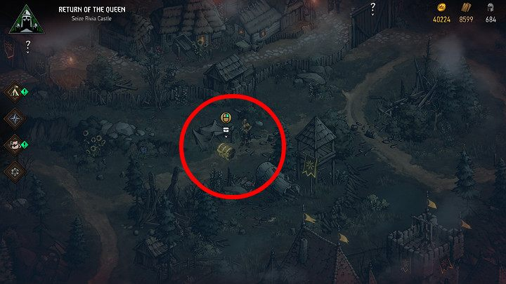 Once youre in the right place, start digging and enjoy your loot - Hidden treasures chests in Rivia | Thronebreaker The Witcher Tales - Maps of hidden treasures - Thronebreaker The Witcher Tales Guide