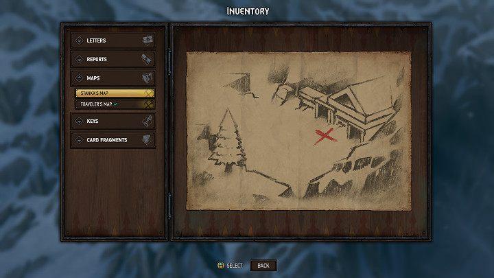 Третья карта сокровищ получена от Стэнки Моран - она прячется в пещере (вы пройдете мимо нее во время вашего путешествия в Махакам) - Скрытые сокровища сундуков в Махакаме |  Thronebreaker The Witcher Tales - Карты скрытых сокровищ - Тронно-разбойник The Witcher Tales Guide