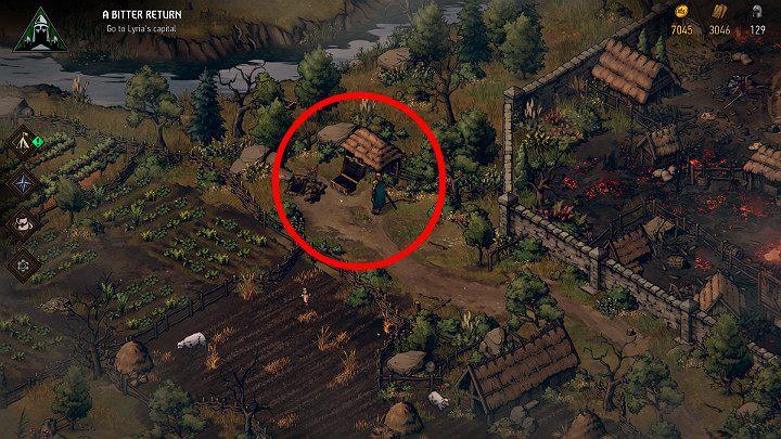 Этот сундук находится прямо за лордом Клейтоном, разрушенным особняком - Скрытые сокровища сундуков в Лирии | Thronebreaker The Witcher Tales - Карты скрытых сокровищ - Тронно-разбойник The Witcher Tales Guide