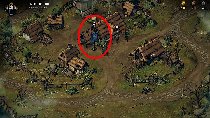 Look for recruits in villages and larger rural buildings with blue flags - Resources in Thronebreaker The Witcher Tales - General Advice - Thronebreaker The Witcher Tales Guide