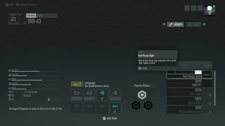 Modification of equipment is a simple activity, but it gives measurable results. - General Tips | Tom Clancys Ghost Recon Breakpoint Guide - Basics - Tom Clancys Ghost Recon Breakpoint Guide