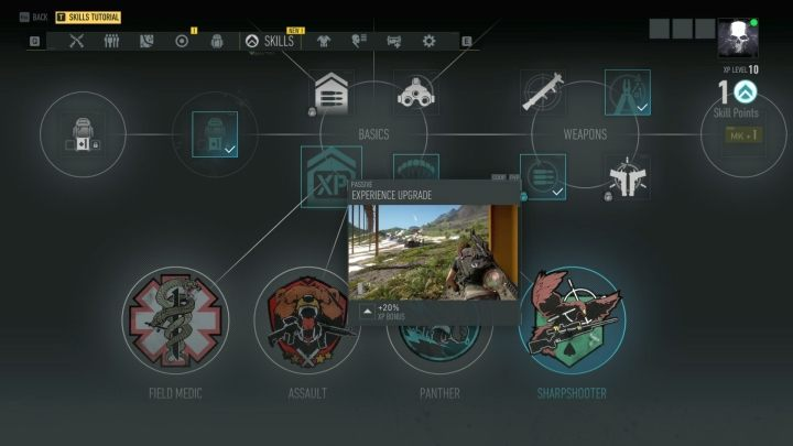 Its worthwhile to plan your characters development as you prefer it to be. - General Tips | Tom Clancys Ghost Recon Breakpoint Guide - Basics - Tom Clancys Ghost Recon Breakpoint Guide