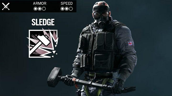 Sledge   Operators type in Rainbow Six Siege - Rainbow Six