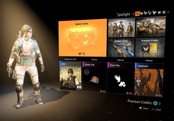The microtransactions only let you buy cosmetic items. - Microtransactions in The Division 2 - Gameplay basics - The Division 2 Guide