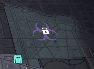 Icons on the map representing the mission (turquoise icon), give access to Dark Zones (purple icon). - How to unlock the Dark Zones in The Division 2? - FAQ - The Division 2 Guide