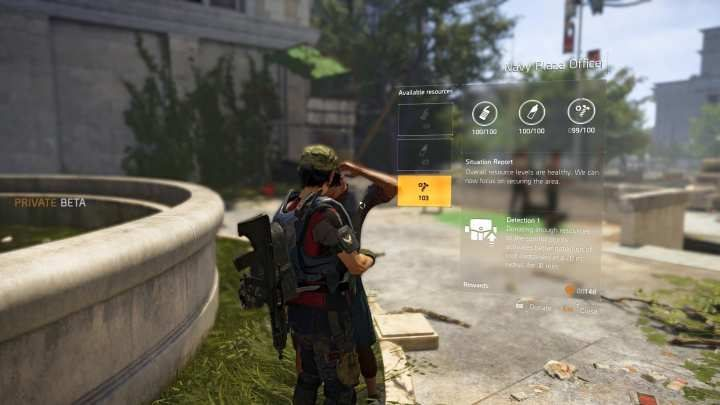 To begin a Bounty mission, you first need to complete a Project - Bounty | Additional Activities in The Division 2 - Additional Activities - The Division 2 Guide