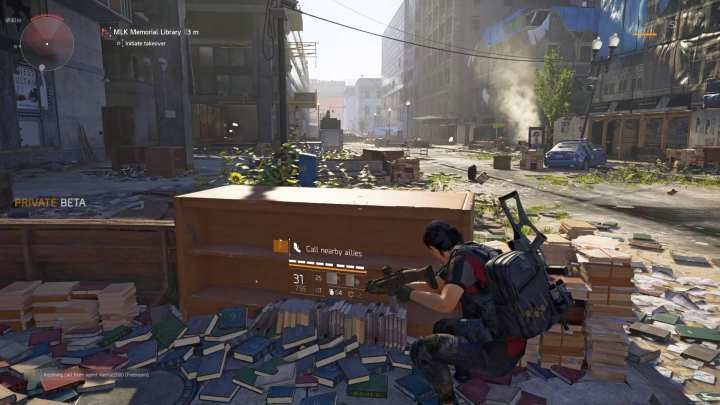 To begin the capturing process, you need to fire a special flare. - Control Point | Additional Activities in The Division 2 - Additional Activities - The Division 2 Guide