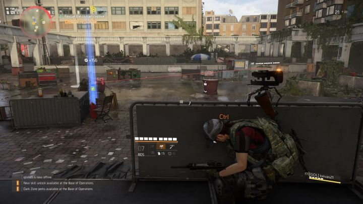 A Turret works great as a distraction. - How to deal with enemies in The Division 2? - FAQ - The Division 2 Guide