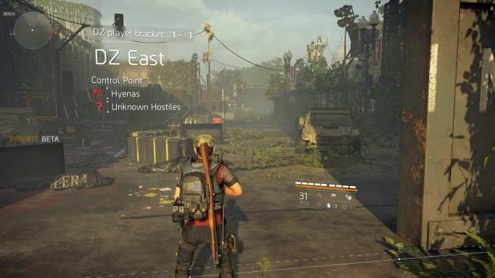Entrance to one of three Dark Zones. - Does The Division 2 have PvP modes? - FAQ - The Division 2 Guide