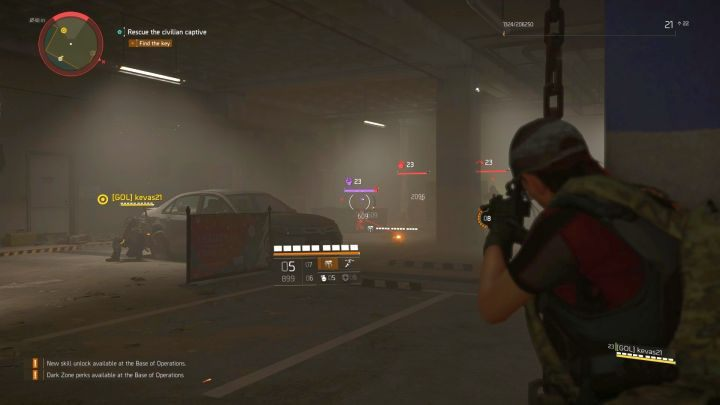There are numerous types of enemies in the game - you will recognize them by the icon next to their health bar. - Combat Guide to Division 2 - Gameplay basics - The Division 2 Guide