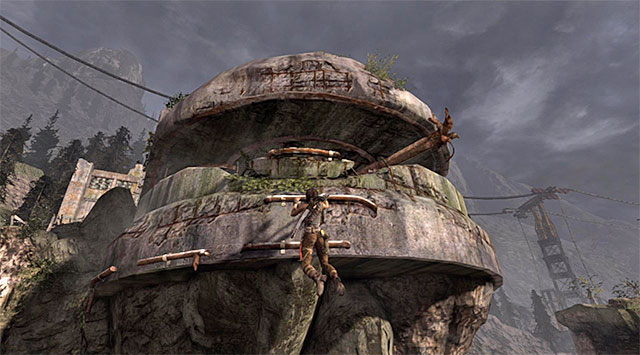 Again, leap over to some interactive ledges and keep moving right - Reach the Endurance Wreck (part 2) - 22: Gone Missing - Tomb Raider - Game Guide and Walkthrough