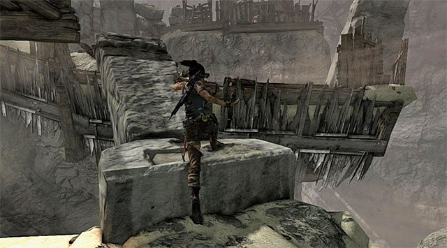 Do not forget of course about picking up ammo crates, but remember also not to slow down your march too much - Rescue Sam from Mathias (part 1) - 24: Going Back In - Tomb Raider - Game Guide and Walkthrough
