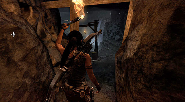 Go down the linear corridors, using the torch to light the way - Temple of the Handmaidens | Optional Tombs: Shipwreck Beach - Shipwreck Beach | Optional Tombs - Tomb Raider Game Guide