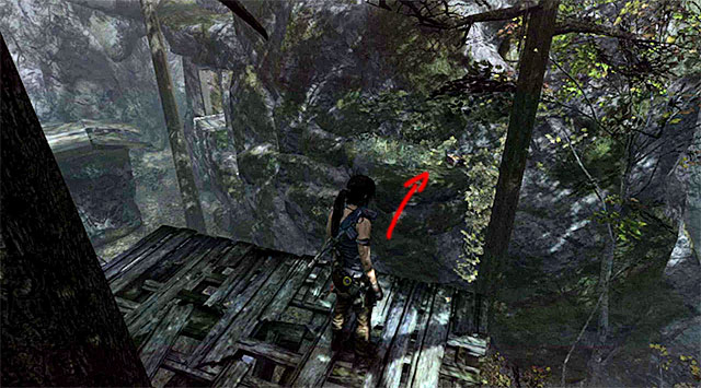Finally, turn left and leap over to the ledge with a box - Relics | Collectibles: Summit Forest - Collectibles: Summit Forest - Tomb Raider Game Guide