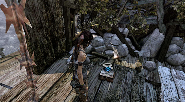 Enter a small room and open the box lying on the floor; the Toy is inside - Relics | Collectibles: Shipwreck Beach - Collectibles: Shipwreck Beach - Tomb Raider Game Guide