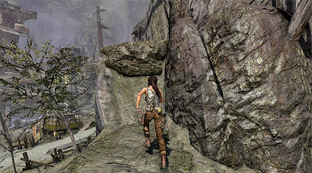 Go up the path, climbing when needed - Cairn Raider - Collectibles: Shipwreck Beach - Tomb Raider - Game Guide and Walkthrough