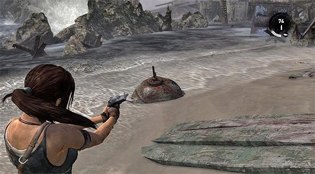 MINE 2/10 - Mine Sweeper | Collectibles: Shipwreck Beach - Collectibles: Shipwreck Beach - Tomb Raider Game Guide