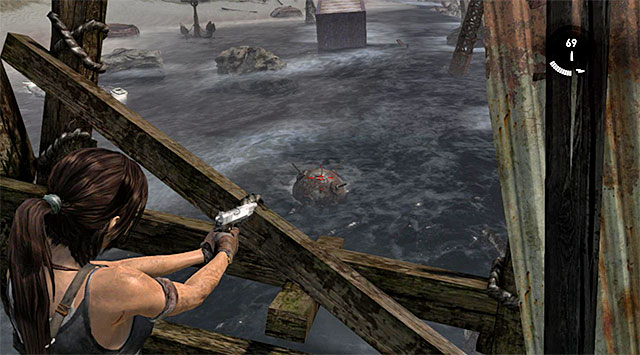 MINE 3/10 - Mine Sweeper | Collectibles: Shipwreck Beach - Collectibles: Shipwreck Beach - Tomb Raider Game Guide