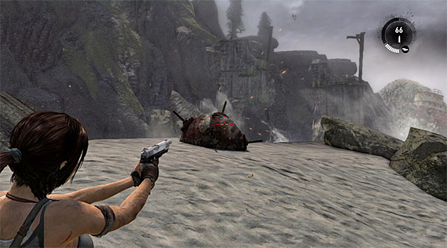 MINE 8/10 - Mine Sweeper | Collectibles: Shipwreck Beach - Collectibles: Shipwreck Beach - Tomb Raider Game Guide