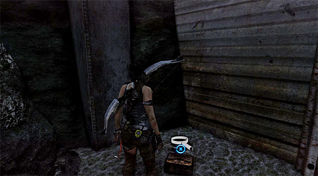 Look for a box at the end of the way - Relics | Collectibles: Cliffside Bunker - Collectibles: Cliffside Bunker - Tomb Raider Game Guide