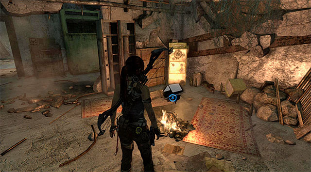 CAMPSITE 1/1 - RESEARCH LAB - Campsites | Collectibles: Research Base - Collectibles: Research Base - Tomb Raider Game Guide
