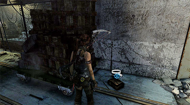 Make sure, that youre in the corridor with defeated enemies and turn right - Relics | Collectibles: Research Base - Collectibles: Research Base - Tomb Raider Game Guide