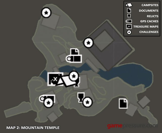 Map | Collectibles: Mountain Temple - Tomb Raider Game Guide ...