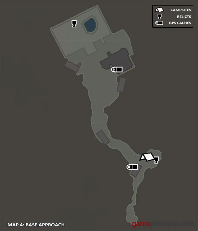 Map | Collectibles: Base Approach - Tomb Raider Game Guide ...