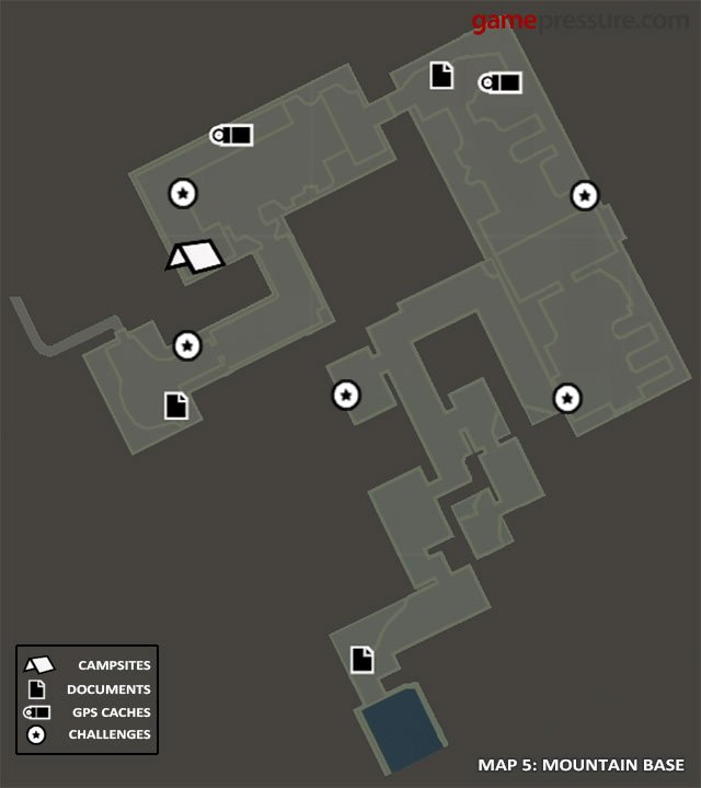 Map | Collectibles: Mountain Base - Tomb Raider Game Guide ...